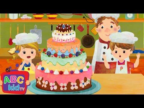 Pat A Cake | Nursery Rhymes - ABCkidTV
