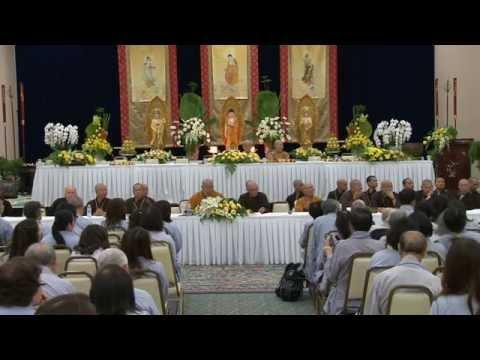Khai Thị của HT Thích Thái Siêu & Phật Pháp Vấn Đáp Khóa THPP Bắc Mỹ Kỳ 5/2015