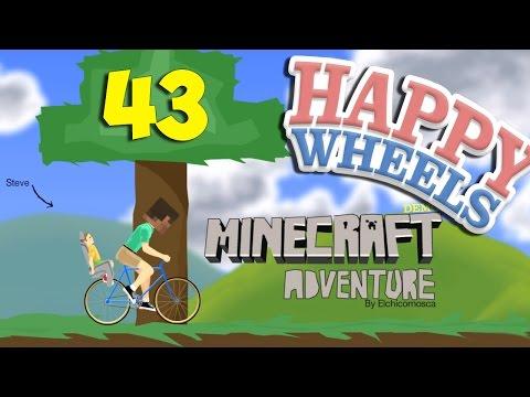 КАРТЫ ИЗ МАЙНКРАФТА - Happy Wheels 43