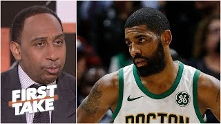 Kyrie Irving's rollercoaster season as narrated by Stephen A. | First Take