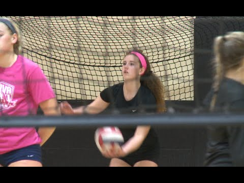 Teen who was near death, now star volleyball player