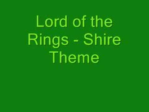 Lord of The Rings Online Music 'concerning Hobbits'