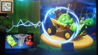 Angry Birds GO! Telepods Pig Rock Raceway - Teleport Karts into the App - Unlock Royal Rumbler Code