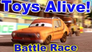 Cars 2: The video game ☆ GREM ☆ Battle Race on Harbor Sprint
