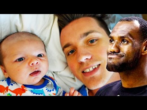 MY BABY LOOKS LIKE LEBRON JAMES!! (DAY - 199)