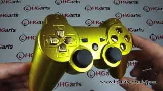 Candy Gold | PS3 Modded Controller | HG Arts Modz