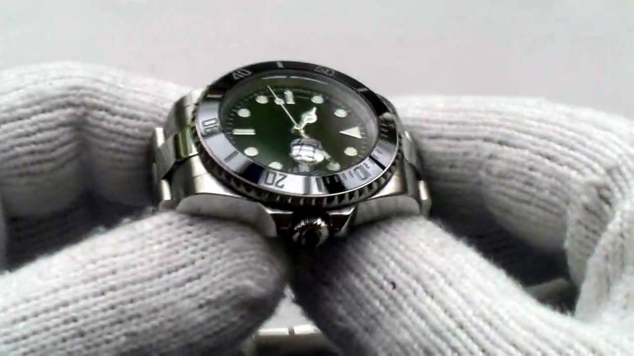 40mm Ceramic Bezel Submariner From Parnis Watch Factory