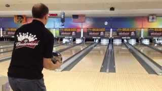 Dave Schick 299 game @ 2014 KFYR TV Bowling Classic