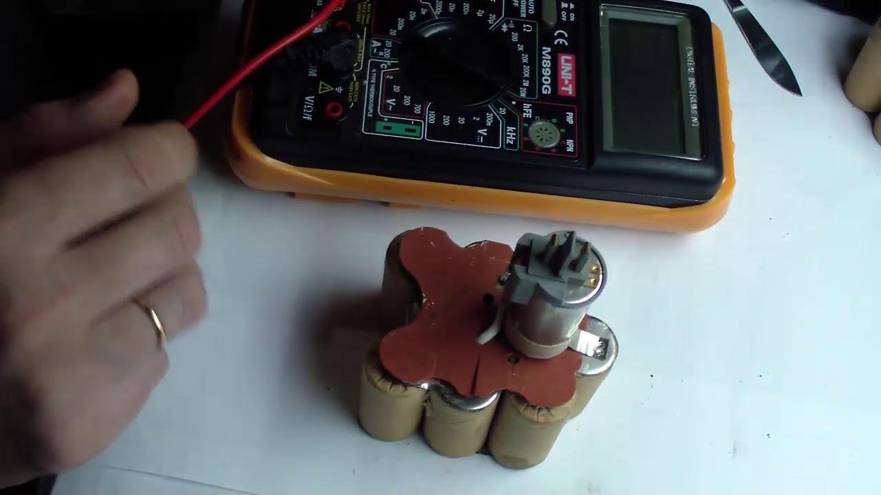 Аккумулятор шуруповерта ремонт видео 33