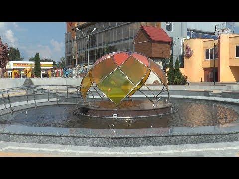 У Хмельницькому з'явився новий фонтан