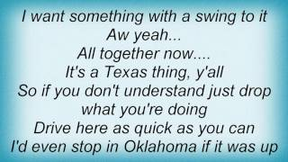 Watch Aaron Watson Something With A Swing To It video
