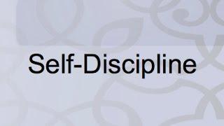 Self-Discipline In Islam