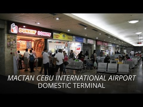 Mactan Cebu International Airport (MCIA) - Domestic Terminal June 2012