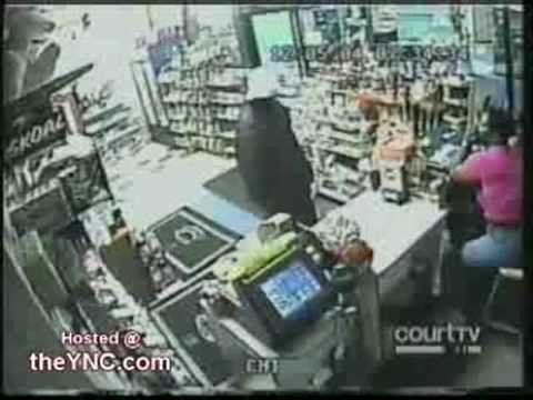 Robber Gets Shot By  clerk