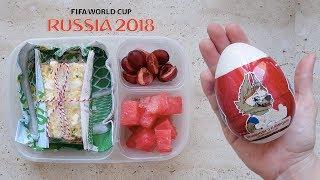 Montando lancheira da Copa do Mundo | #LancheiraMamãesPeloMundo | Thalita Campedelli