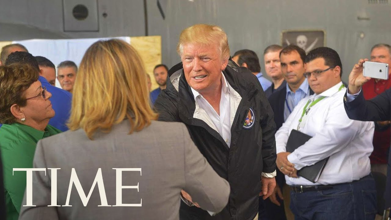 President Donald Trump Meets With The San Juan Mayor He Called 'Nasty' | TIME