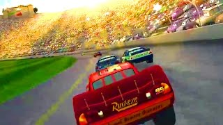 Cars 1 the Videogame 360 - No Com Episode 23 - Lightning Mcqueen VS The LOS ANGELES INTERNATIONAL