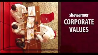 قيم شاومر - Shawarmer Corporate Values