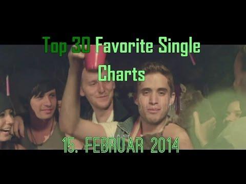 Top 30 Favorite Single Charts 15. Februar/February 2014
