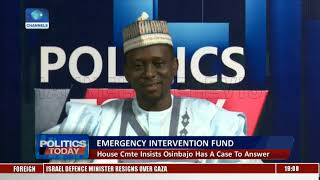 Emergency Intervention Fund: Assessing The Role Of VP & Allegations |Politics Today|