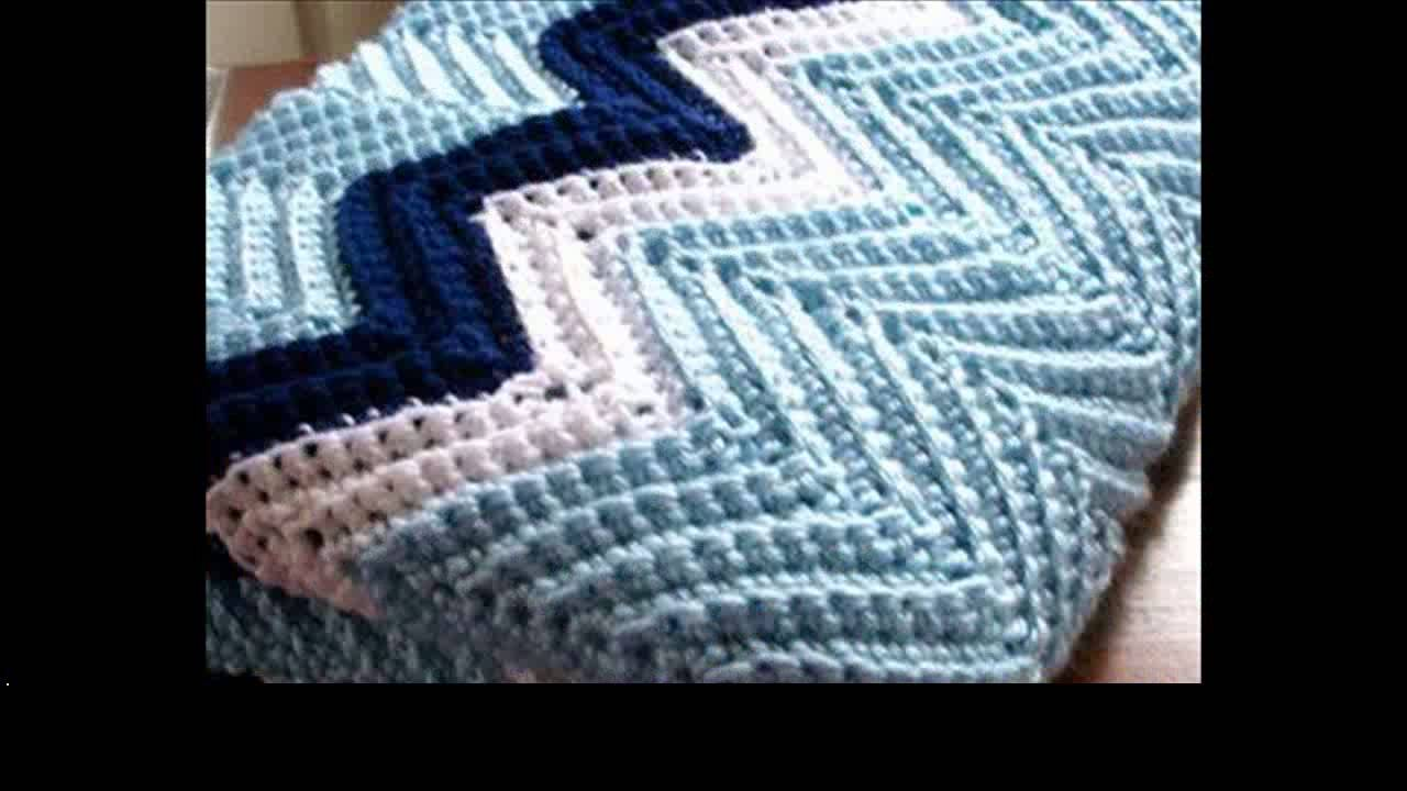 easy crochet blanket patterns for beginners - YouTube