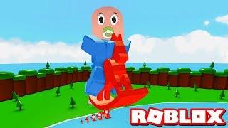 En Büyük Bebek Artık Biziz!! - Panda ile Roblox Baby Simulator