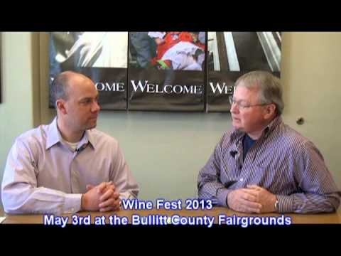 Wine Fest 2013 at the Bullitt County Fairgrounds on May 3rd 2 to 10 PM
