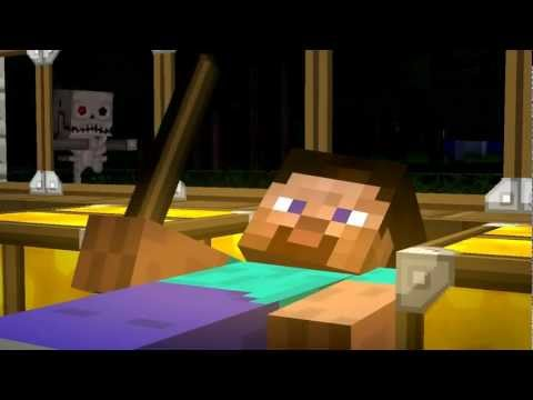 Skelly Heart - A Minecraft Parody of Gym Class Heroes Stereo...