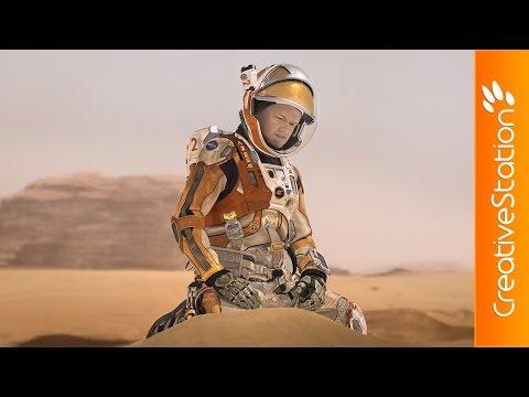 The Martian - Speed Painting (#Photoshop)   CreativeStation