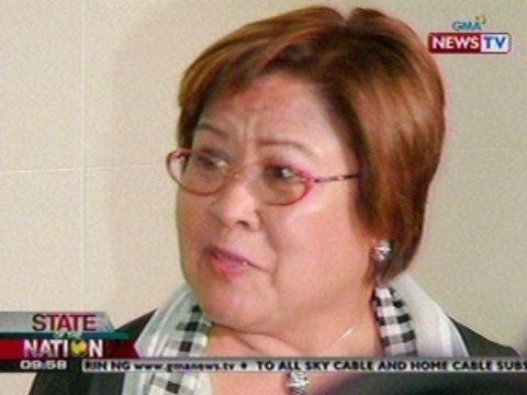 SONA: Ama ni DOJ Sec. Leila De Lima, pumanaw dahil sa sakit na colon cancer