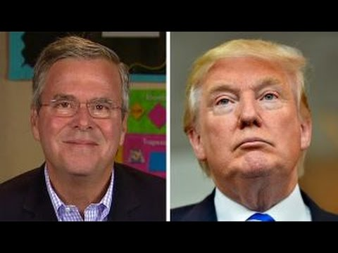 Bush defends immigration plan after Trump goes on the attack