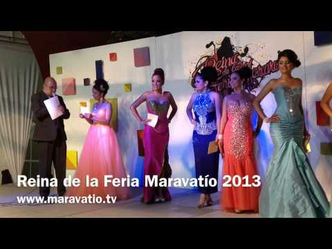 Reina de la Feria Maravat&iacute;o 2013