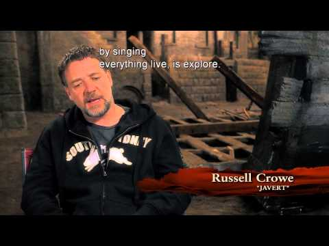 Russell Crowe in Bonus Features of Les Miserables