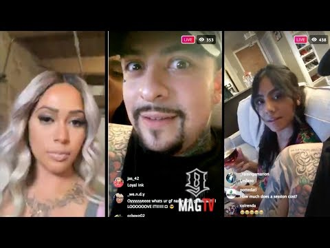 Black Ink CHI: Junior Claps Back At Lily About Jamaica On IG Live! thumbnail