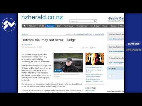 Megaupload unschuldig Überraschende Wende SemperVideo 22.04.2012