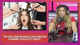 """Trucos de belleza de Ingrid Jorge """"No recomendamos que ningún hombre vea este video"""""""