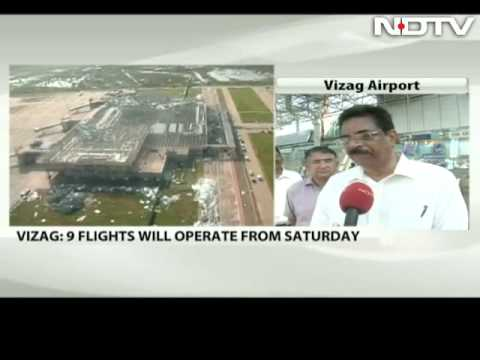 Vizag airport ready for flights but as a work-n-progress