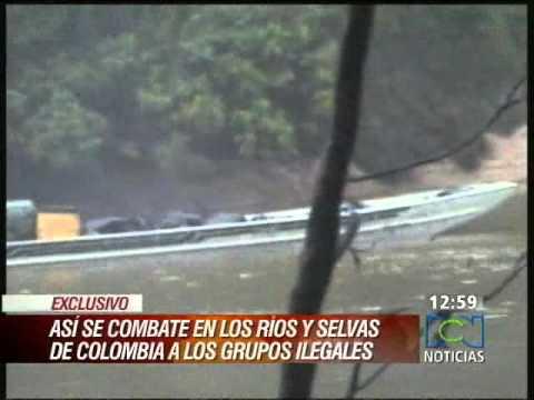 COLOMBIAN ARMY AMBUSH AND KILLS GUERRILLA TRAFFICKERS COMING FROM VENEZUELA