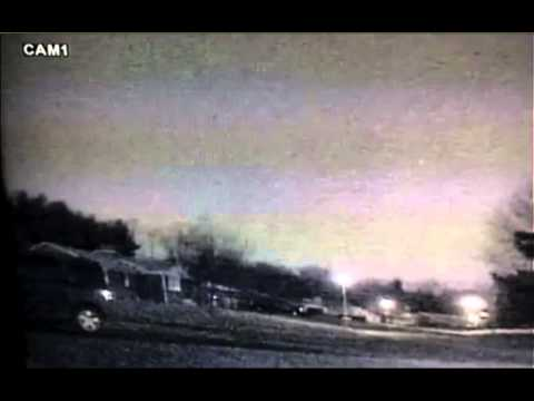 Meteor on March 22 on security cam in Thurmont MD