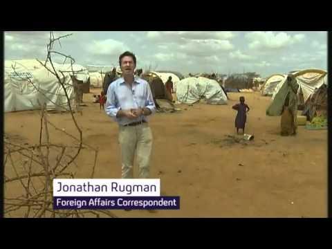 Fleeing famine in Somalia