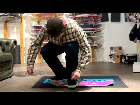 Laser Flip In The Skateshop No Trucks