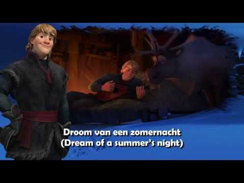 Frozen - Reindeer(s) Are Better Than People [Dutch] Subs+Trans