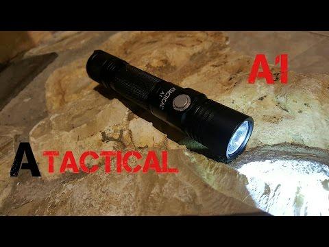 #85 Atactical A1 LED-Taschenlampe/ Viel Licht für wenig Geld