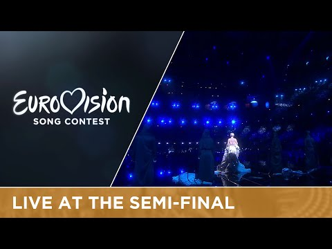 Nina Kraljić - Lighthouse (Croatia) Live at Semi - Final 1 of the Eurovision Song Contest