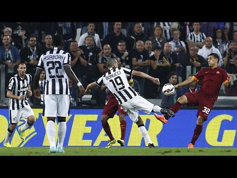 Juventus-Roma 3-2  5/10/2014  Highlights