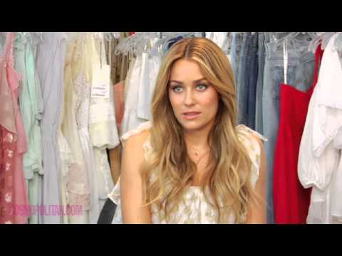 Lauren Conrad's Cosmo Cover Shoot