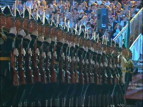 Band and Squadron of the Honor Guard of the Republican Guard of Kazakhstan