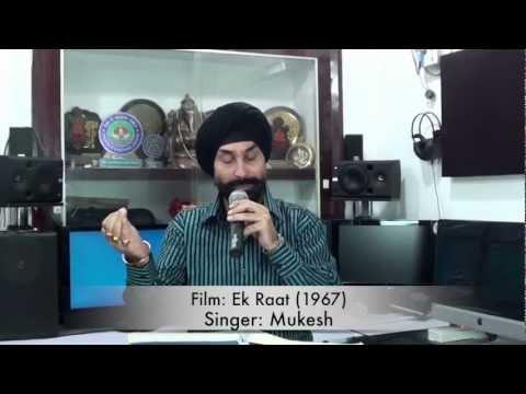 Aaj tumse door hokar - jasvinder dhani live
