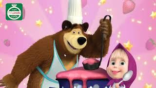 Masha little girl scramble to cook/ Masha cô bé siêu quậy nấu ăn