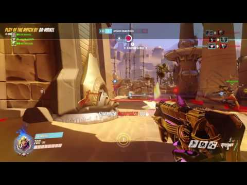 Overwatch: Sombra play of the match competitive